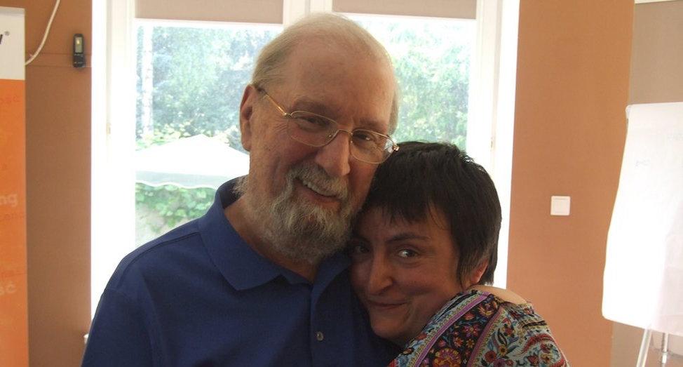 Frank Farrelly i Joanna Czarnecka